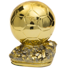 1:1 World Golden Ball Trophy Ballon D'OR Award Football Souvenirs Replica 26CM