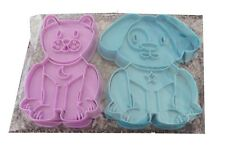 PET ANIMAL KITTEN AND PUPPY BISCUIT COOKIE CUTTERS - B104 - NEW/SEALED