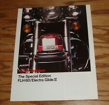 1979 Harley Davidson Special Edition FLH-80 Electra Glide II Sales Brochure 79