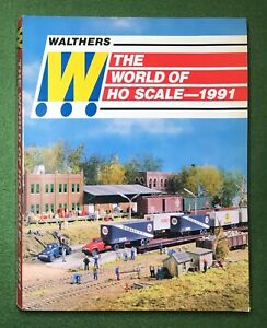 Walthers The World of HO Scale 1991 vintage model train catalog