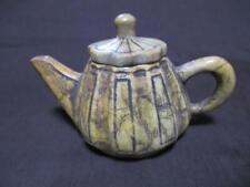Korean Joseon Dynasty Oil Pot / H 8.3[cm] 630g