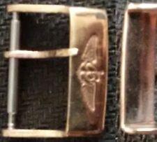 Original Breitling Buckle Fibbia 18mm inner Rose Gold Plated Very Good L@@K !