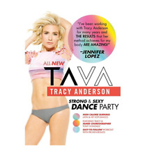 NEW! TAVA Tracy Anderson WORKOUT Dance Cardio STRONG & SEXY SANCE PARTY