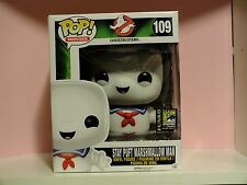 Funko POP! Ghostbusters Stay Puft Marshmallow Man 6-Inch Vinyl  2014 SDCC RARE