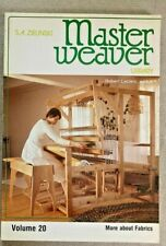 MASTER WEAVER LIBRARY, VOLUME20, BY S. A. ZIELNSKI,1985.MORE AND FABRICS