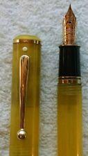 Sheaffer Levenger Seas Caribbean Sea Vintage Fountain Pen 14k Gold 580 Fine Nib