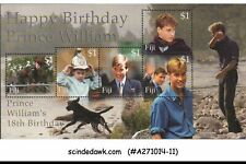 FIJI - 2000 18th BIRTHDAY OF PRINCE WILLIAM - MINIATURE SHEET - MINT NH