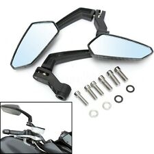 Black 8mm 10mm Motorcycle ATV Scooter Rear View Mirrors For Suzuki Honda Yamaha