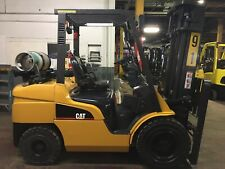 2016 Cat 8000 Lb Solid Pneumatic Forklift With Side Shift And 2 Stage Mast