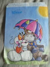 Diddl's & Friends Diddlina Mouse & Galupy Horse under Umbrella Small Gift Bag
