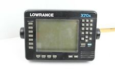 Lowrance X70A Fishing Depth Finder Sonar Graph Used