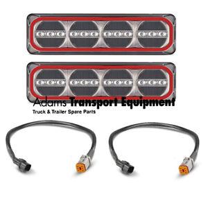 LED Autolamp 385ARWM + Patch Leads suit Mitsubishi Triton MN Plug & Play 4WD Kit