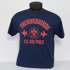 US Air Force Thunderbirds Block Design ADULT or YOUTH T-Shirt