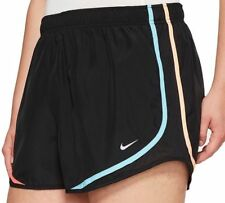 NIKE Women's Dri-FIT Tempo Running Shorts 624278-093 Black/Multi Size XS