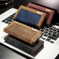 Für Samsung Galaxy S10 S10+ S10e Jeans Cover Schutz Hülle Tasche Flip Case Denim
