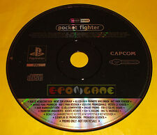 POCKET FIGHTER Ps1 Versione Italiana Promo ○○○○○ SOLO DISCO