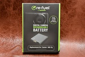 Replacement Rechargeable Battery for Canon NB-11L A2300, Powershot SX400 IS RB2