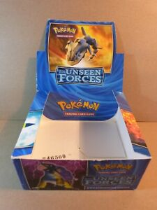 Pokemon Booster Box (1)(EMPTY)(Ex Unseen Forces)