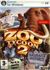 Zoo Tycoon 2 : Animaux disparus - Pack d'Extension - Jeu PC - Microsoft Game Stu