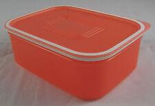 Tupperware A 150 Quadro 500 ml Lachsrot Lachs Rot Dose + Deckel Neu OVP