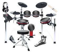 Komplettes Alesis Crimson II E-Drum Kit mit allem Zubehör zum sofort loslegen