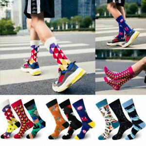 Cool Food Animal Hip Hop Crew Socks Funny Street Crew Socks Men Harajuku Divert