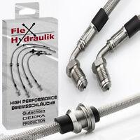 Umbau TT RS_für Golf 5+6 inkl. Hinterachse - Stahlflex Bremsschläuche