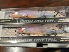 Megabass Vision 110 Oneten GLX Northern Reaction Limited Color Lot of 2