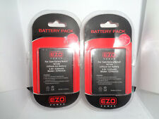 2pc Ezo Power For Samsung Galaxy Note 2 N7100 Lithium-Ion Battery 3.8V 3100mAh