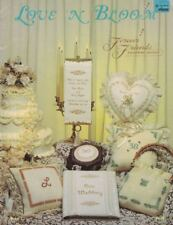 Forever Friends LOVE N BLOOM Wedding Love Patterns for Cross Stitch 1982