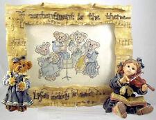 Boyds Bears Photo Frame Lindsey Louise Recital-Violin & Clarinet School Pupils