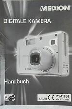 MEDION Digitale Kamera Handbuch MD 41856  Bedienungsanleitung deutsch B2697