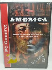 America: The Game (PC game by Data Becker - NEW Sealed read descript. strategy