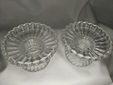 Partylite Quilted Crystal Tealight Votive Pillar Taper Candle Holders Brand New