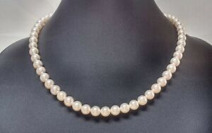 Akoya Pearls 7.0-7.5Mm Necklace 43Cm