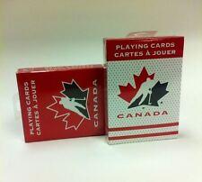 Set of 2 Hockey Canada Playing Cards New Decks