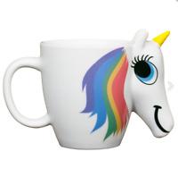 Rainbow Unicorn Colour Changing Mug Heat Sensitive Coffee/Tea Cup Christmas Gift