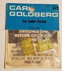 Carl Goldberg 20 Amp Fuse 2 pcs Vintage Rc 677