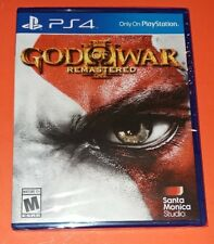 PS4 PLAYSTATION 4 GOD OF WAR III REMASTERED NEW AND SEALED