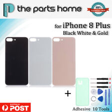 New Back Rear Battery Glass Door Cover Housing Case iPhone 8  Plus with Adhesive