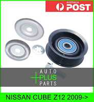 Fits NISSAN CUBE Z11 Idler Tensioner Drive Belt Bearing Pulley