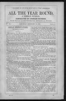 CHARLES DICKENS GREAT EXPECTATIONS RARE 1860 ALL THE YEAR ROUND WEEKLY JOURNAL