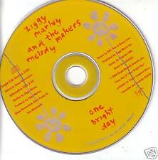 ZIGGY MARLEY One Bright 2 RARE VERSIONS PROMO CD Single