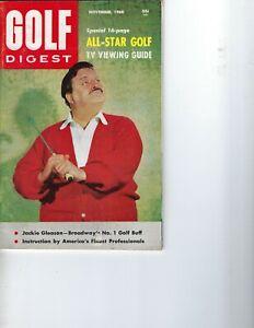 1960 NOVEMBER Golf Digest magazine Jackie Gleason GOOD