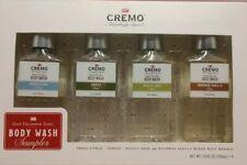 Cremo Body Wash Sampler Fresh Citrus, Forest, Pacific Sage, Bourbon Vanilla NEW
