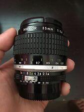 Nikon 35mm f/1.4 Ai-S Lens NIKKOR