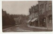 More details for harpenden station road hertfordshire 1918 vintage rp postcard 355c