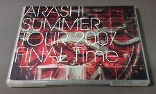 ARASHI Summer Tour 2007 Final Time (DVD,2-Disc/Japan Import)G-1915-250-003