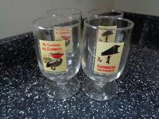 More details for guinness half pint goblets x 4