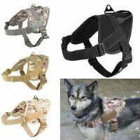 patrol. les vêtements de chien de chasse militaire  pet de harnais tactique